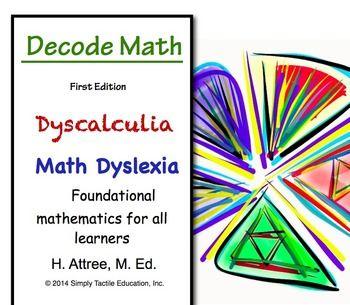 Decode Math - Dyscalculia, Math Dyslexia, Visual Learners  Dyscalculia Worksheets