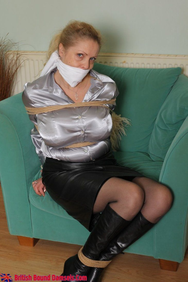 Milf Secretary Bound By Kmherts Bound In Leather Skirts