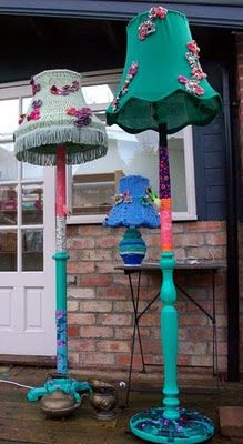 Lamps by Lucy Renshaw - http://www.lucyrenshaw.com/