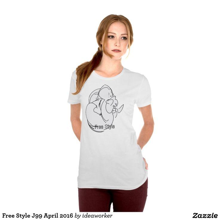 Free Style J99 Women's Alternative Apparel Crew Neck T-Shirt   #design #fashion #freestyle #women #tshirt