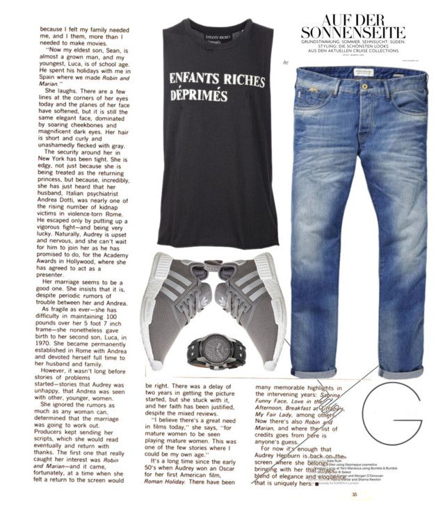 """""""The Nomad"""" by miah-belmonte on Polyvore featuring Scotch & Soda, Enfants Riches Déprimés, adidas, men's fashion and menswear"""