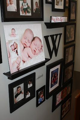 Good site with ideas on how to arrange your pictures on different size walls