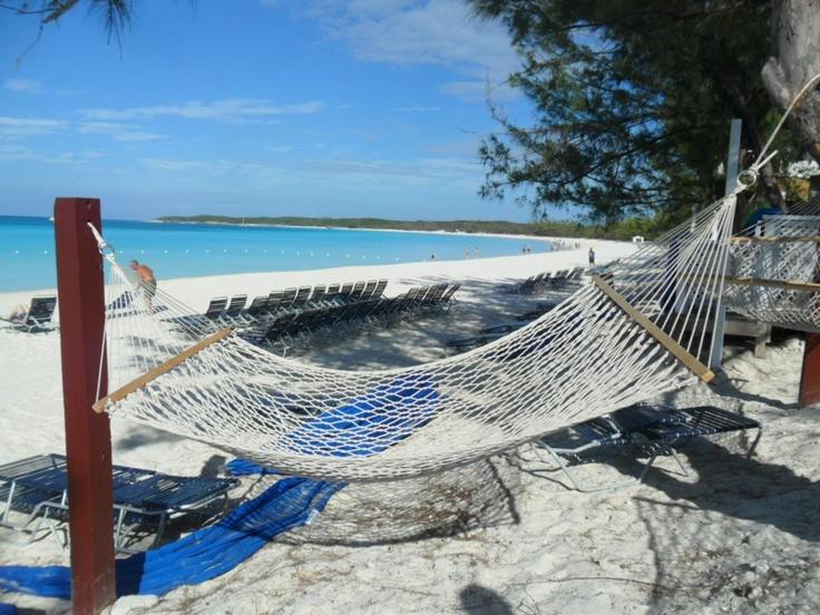 Relaxing on #HalfMoonCay. (photo credit: Frances Quinn Jajal). #HMC