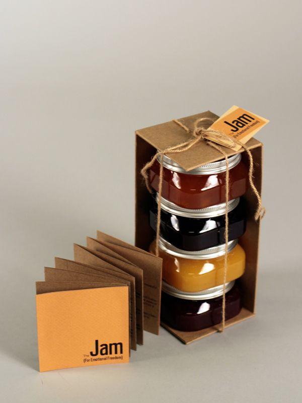 Jam Packaging by Jessica Y. Wen, via Behance