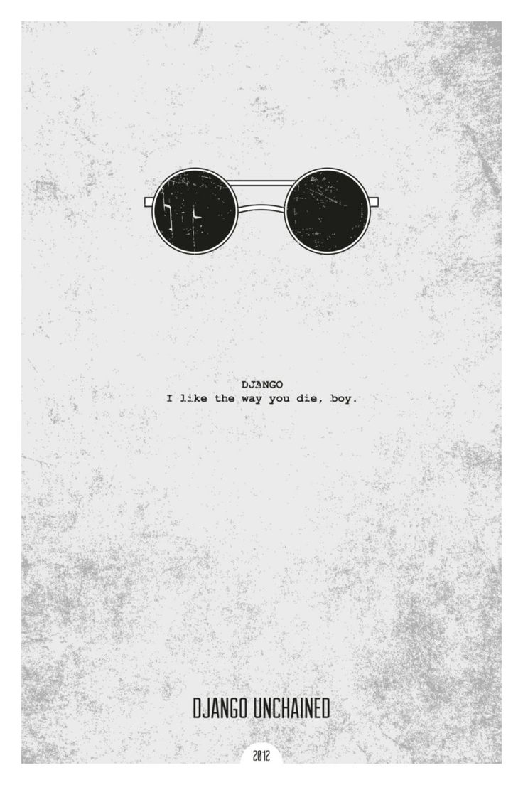 Minimalist Movie Posters by DopePrints - Daily Inspiration