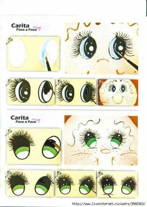 Pintando olhos
