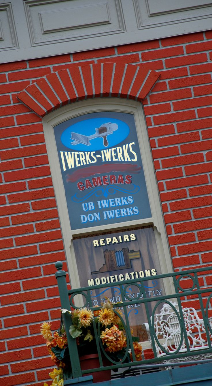 Finish That Disney Parks Sign: Finding Ub Iwerks on Main Street, U.S.A., at Magic Kingdom Park