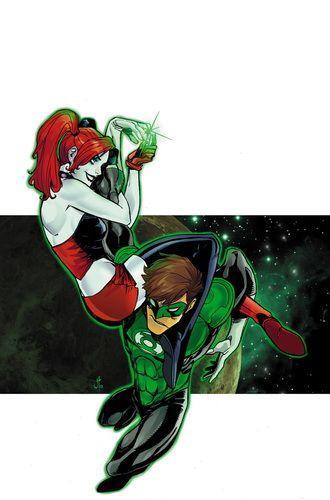 HARLEYS_LITTLE_BLACK_BOOK_2 : Estrella invitada Linterna Verde!  Negro y rojo son tipo de cosas de Harley Quinn ... así que cuando el anillo de poder más singular en el universo cruza en su camino, no tiene más remedio que poner en, ¿verdad?  Desafortunadamente para Harley-y todos los demás, este anillo híbrido es impulsado por la rabia y la muerte ... y las cosas van a ir de las manos muy rápidamente!   masacre80