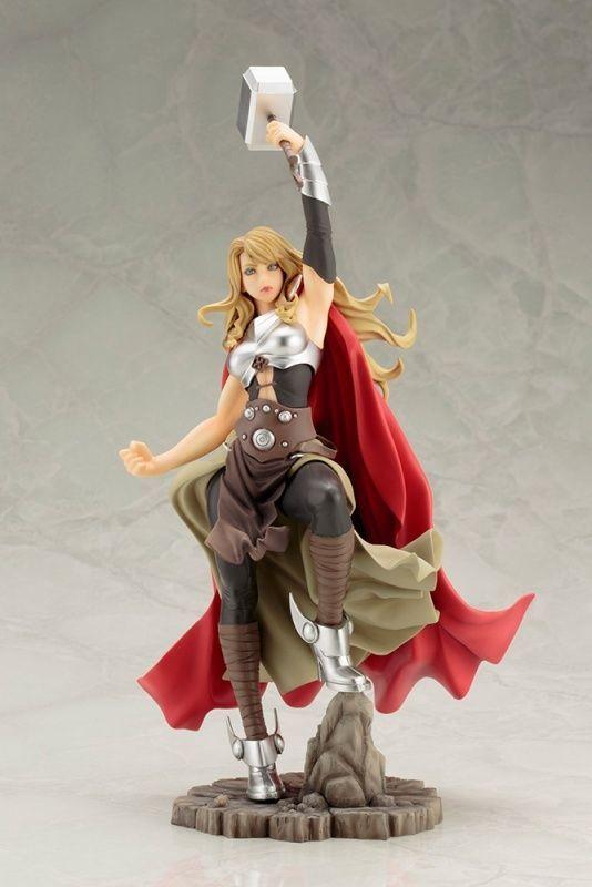 Marvel Bishoujo Jane Foster Lady Thor 1/7 Scale Statue Kotobukiya #Marvel