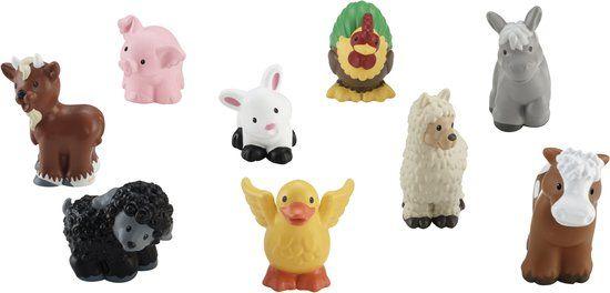 Fisher-Price Little People Boerderij Dierenvrienden - Speelfiguren