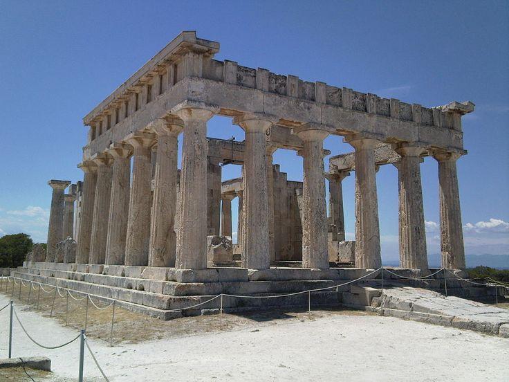 Temple of Aphaia on the island of Egina