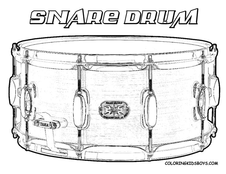 snare drum coloring page you can print out this drums coloringpage now