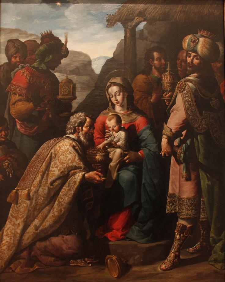 José Juárez, La adoración de los reyes.