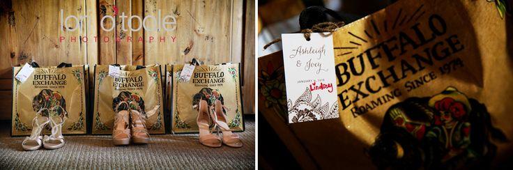 Bridesmaid gift idea | Tanque Verde Guest Ranch wedding | Lori OToole Photography |
