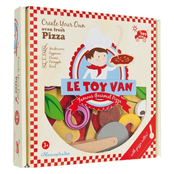 Le Toy Van make Your Own Pizza - TV279