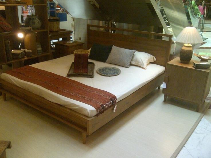 Scandinavian Mod inspired bedroom set