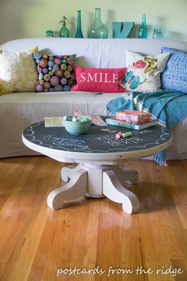 25 best ideas about painted pedestal tables on pinterest