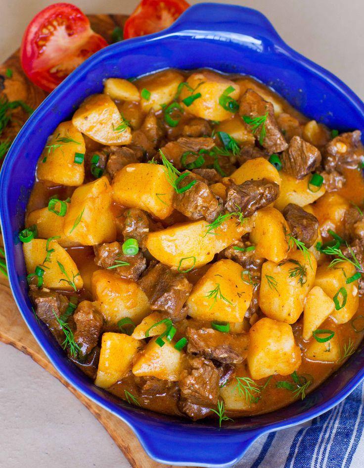 Жаркое – Stewed Beef