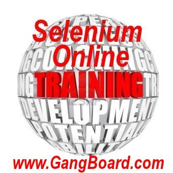 Get Selenium Automation Testing Online Training form Selenium Expects. Please visit out site.