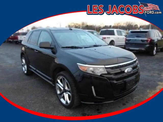 8477 – 2011 #Ford #Edge Sport FWD – Tuxedo Black with Charcoal Black, V-6 3.7L, Auto, Navigation, Ford SYNC System, Reverse Sensing with Backup Camera, Heated Leather Power Memory Seats, Dual Climate Control, Keyless, Local Trade In, More! #Used #Cars #Cassville, #MO