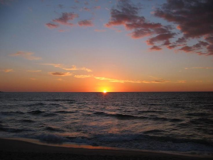 2017 Strand Nordsee Sonnenuntergang