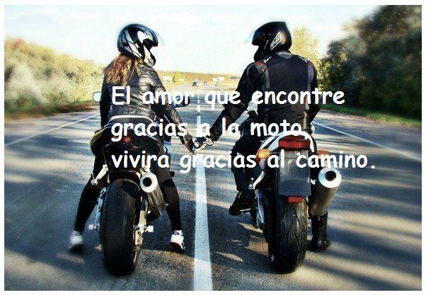 Imágenes de amor en motos
