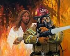 With our Firemen: Sweetbrown, God, Firefighters Wife, Sweet Brown, Comic Books, Funny, Lord Jesus, Firefighters Stuff, Fire Fighter