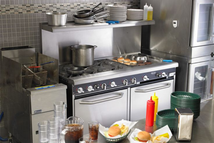 Commercial cooking equipment is intended for commercial for Equipement cuisine commercial usage