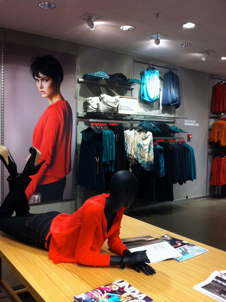 Visual Merchandise WE fashion new store concept, Netherlands
