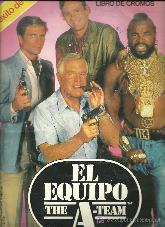 Album cromos El Equipo A