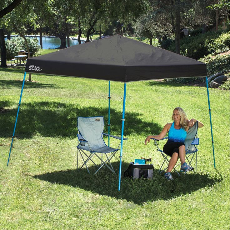 Quik Shade Solo LT50 9 x 9 ft. Slant Leg Instant Canopy - 159371 & 7 best Quik Shade: GO Series images on Pinterest | Canopies Shade ...