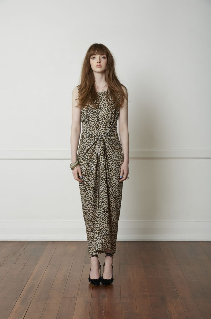 Carlson Bacall Dress - Leopard