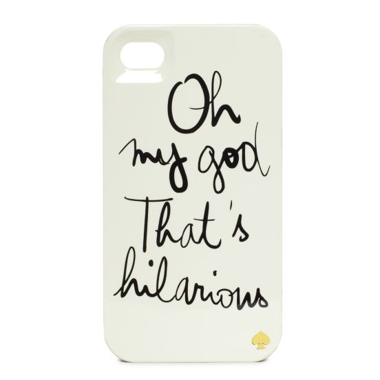 kate spade | garance dore hilarious iphone case