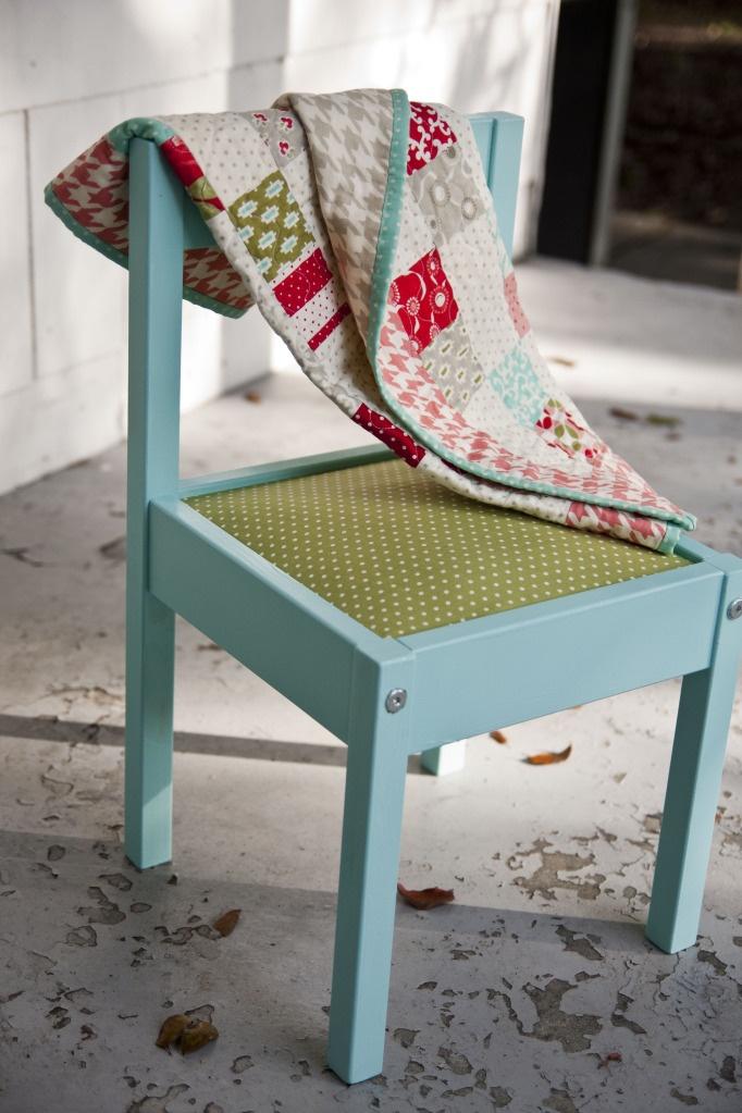 Lella Boutique: Ikea Latt chair makeover
