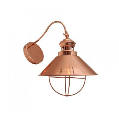 Cole Wall Light Copper - Interiors Online - Furniture Online & Decorating Accessories USD 145 ...