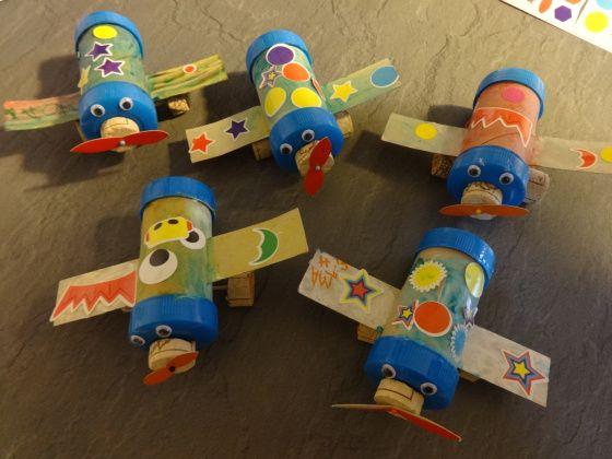 Avion, bricolage enfant