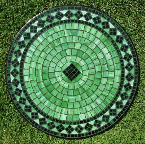 Ceramic-Tile-Mosaic Table