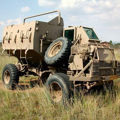 Buffel armoured vehicle SADF