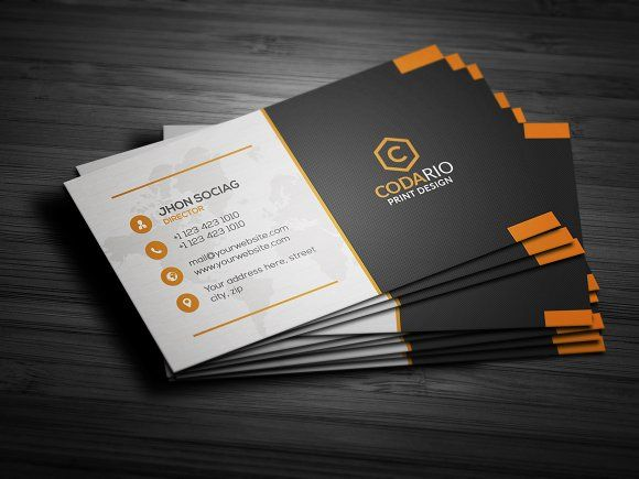 Best Business Card Template Images On Pinterest Business - Creative business card templates