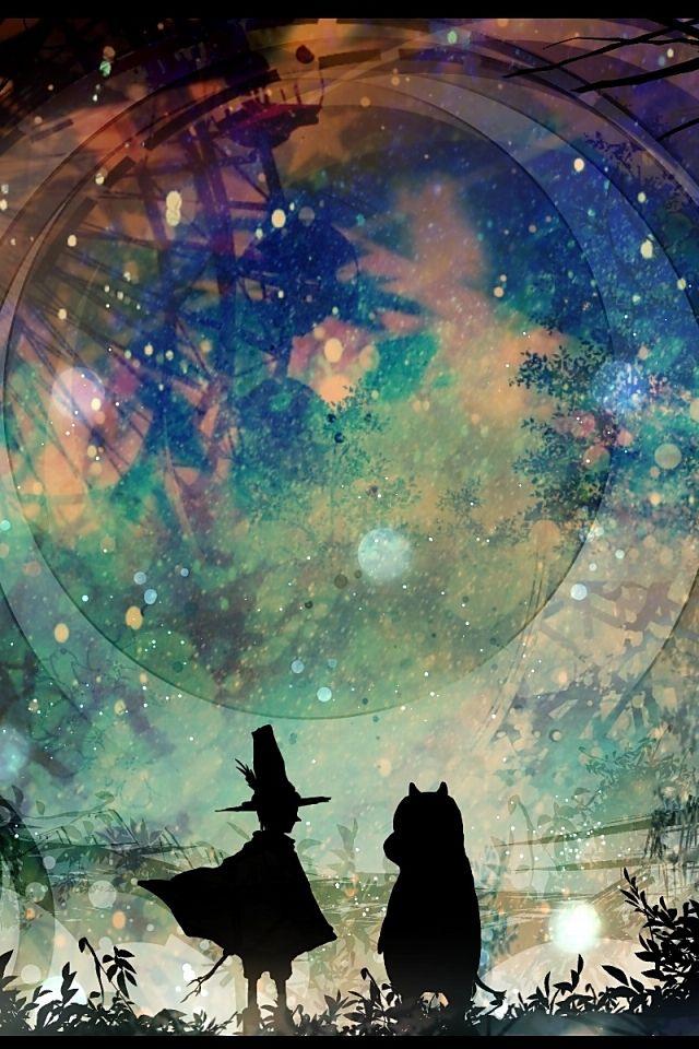 【人気104位】アニメ「ムーミン」の幻想的なスマホ壁紙