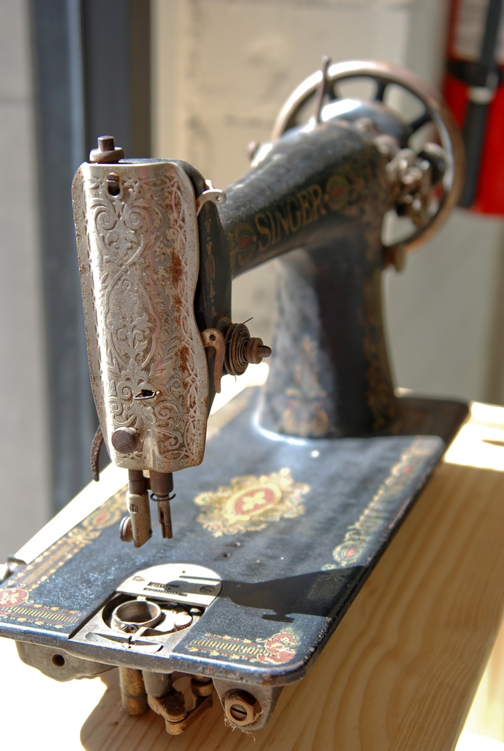 Vintage sewing machine nähen pinterest