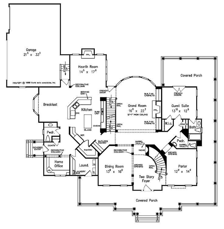 wonderful farmhouse floor plan