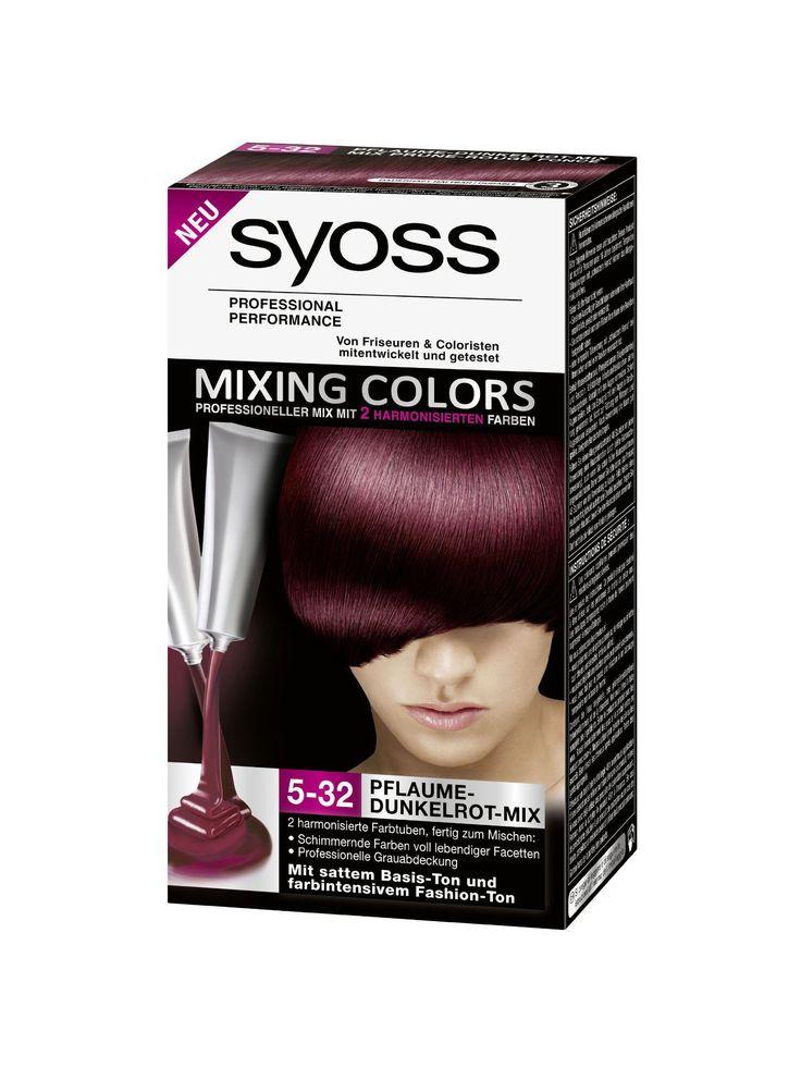 Syoss Mixing Colors 5.32 Dark Cherry Mix