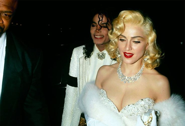 Madonna and Michael at the 63rd Annual Academy Awards, March 25th 1991