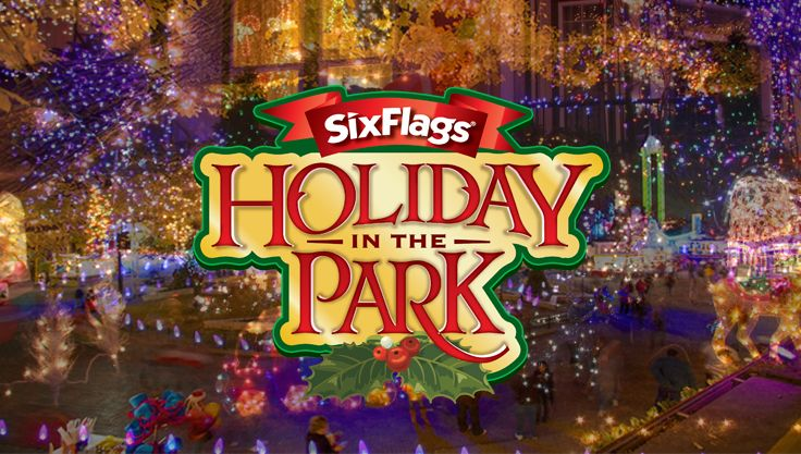 Image result for six flags over texas Christmas