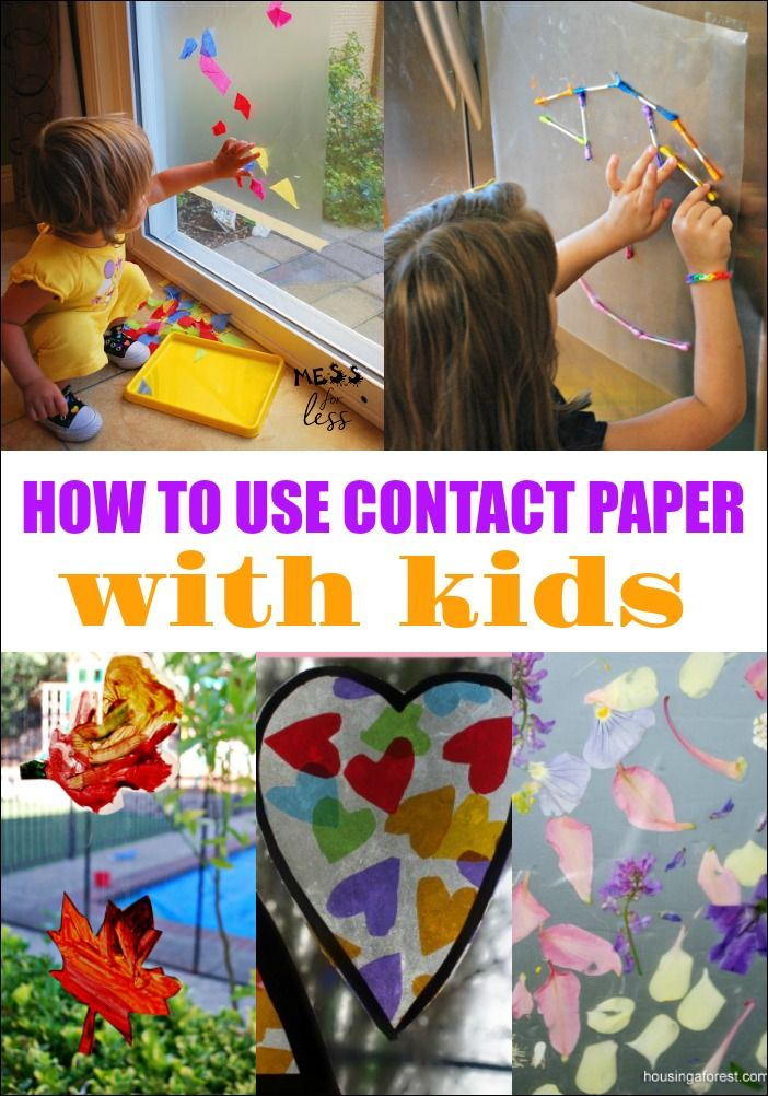 2324 best mess for less kids activities kids crafts for Where to buy contact paper for crafts