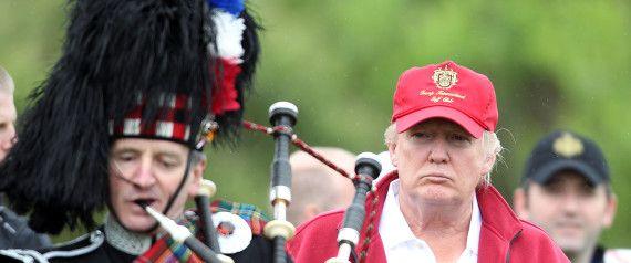 Donald Trump Called A 'Wazzock' As MPs Debate Banning US Presidential Hopeful From UK  DONALD TRUMP SCOTLAND