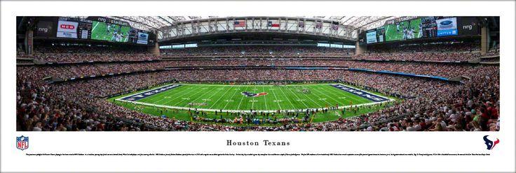 Houston Texans Panoramic Picture - NRG Stadium Panorama - Unframed $29.95