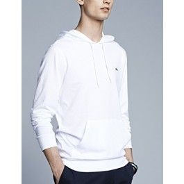 Hooded Jersey T-shirt, White