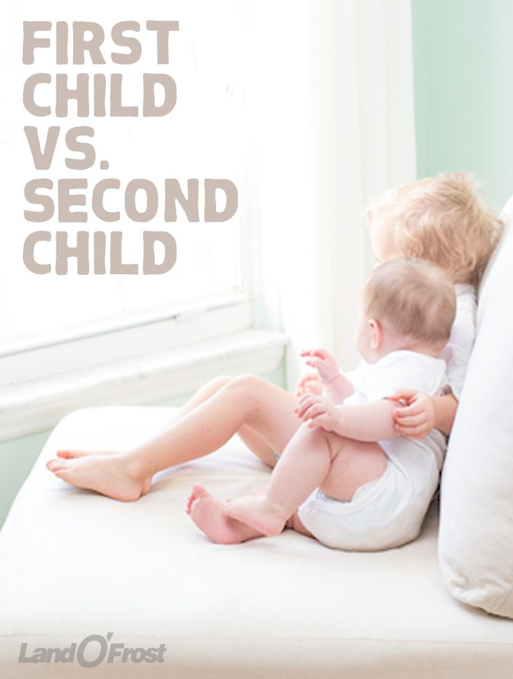 We break down some of the myths and facts about the first child vs. second child—including how the first child will adjust, the importance of hand-me-downs, and more!